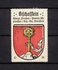 402417/ Reklamemarke - Kaffee Hag - Wappen von Bischofstein / Ostpreußen