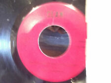 THE CLANSMEN 45 CLAN RECORDS AUTOGRAPHED SLEEVE Is There Such A Thing As Love