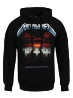 Metallica Master Of Puppets Tracks Men's Black Pullover Hoodie