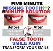 Ideal Value TEMP TOOTH MISSING TOOTH TEMPORARY REPAIR DIY False Teeth DENTAL FIX