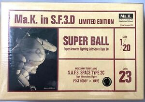 Wave Maschinenkrieger Ma.K. S.A.F.S. Type 2c Super Ball 1:20 Series 23 Limited