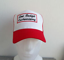 Low Budget customizing, AUTO, MOTO, Chopper, Trucker Cap, Rosso , HARLEY,