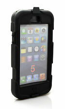 Shockproof Heavy Duty Military Armor Case Cover w/ Belt Clip for iPhone 5 5S SC
