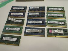 Mixed brands 13x2Gb 1333 1600 1066 Mhz DDR3 SODIMM laptop Memory RAM