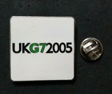More details for rare political pin badge ' uk g7 summit 2005 '