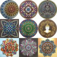 5D DIY Special Shaped Diamond Painting Kit Mandala Cross Stitch Craft Decor #K