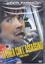 Dvd **IN LINEA CON L'ASSASSINO** con Colin Farrell nuovo 2002