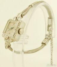 Hamilton vintage ladies' wrist watch, 17 Jewels, 14k white gold rectangular case
