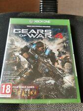 GEARS of War 4 (Xbox One) NEU und versiegelt mit 4 Bonus Gears of War Games