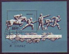 Gestempelte Briefmarken mit Motiven aus der Sowjetunion