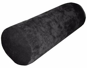 """ma03g Gray Sofa Chenille Bolster ( PILLOW + COVER **2 pieces 8""""x15"""" )"""