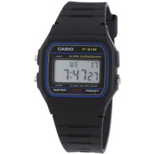 Casio Boys/Mens/Ladys Clasic 1980's Retro Digital Watch F91W-1YEF