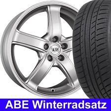 """15"""" ABE Winterräder TEC AS1 Silber 185/65 Reifen für Opel Astra G Caravan T98"""