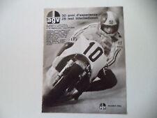 advertising Pubblicità 1975 CASCO HELMET AGV e GIACOMO AGOSTINI