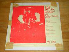 Bob Dylan - On the Road 1974-1975 LP (ZAP 7877) VG+