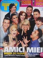TV Sorrisi e Canzoni n°14 2012 Emma Marrone Alessandra Amoroso cover [C95]