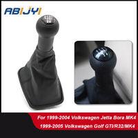 Car Gear Shift Knob 5Speed Lever Gaiter Boot For 99-03 Volkswagen Jetta Bora MK4