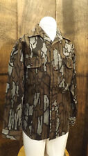 Vtg NOS Redhead Trebark Camouflage Hunting Shirt Youth/Kids sz Sm USA made Camo