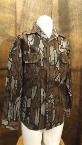 Vtg NOS Redhead Trebark Camouflage Hunting Shirt Youth/Kids sz MED USA made Camo