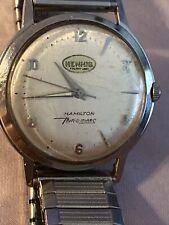 "Hamilton SS ""THIN-O-MATIC"" 1967 Mechanical Men's Wristwatch. HENNIS FREIGHT LINE"