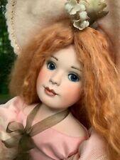 Ann Jackson Porcelain Artist Doll Fern LE 50