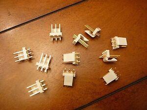 MOLEX 26-61-4030 KK 396 Header Vertical Friction Lock 3-Circuit GOLD Qty.10
