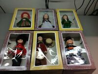 Lot of 6 Vintage Effanbee Dolls 1195 1197 1102 1135 new in open box