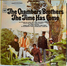 """Chambers Brothers """"The Time Has Come"""" -- 1968 Columbia Records 2-Eye - VG+ /VG"""