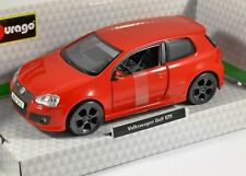 VOLKSWAGEN GOLF Mk5 GTi EDITION 30 in Red 1/32 scale model by Burago