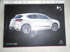 Citroen DS4 range brochure Feb 2014