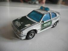 Matchbox Vauxhall Astra GTE / Opel Kadett GSI Polizei in WHite/Green