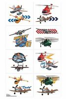 Planes Tattoos - Disney Planes Fire and Rescue Tattoos - Planes Birthday Party