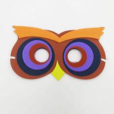 Owl Nighthawk Bird Farm Animal Jungle Safari Foam Mask Fancy Dress School Party