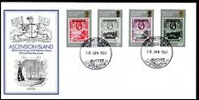 1984 Ascension Island 150th Ann St Helena Colony FDC