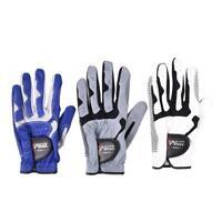 Men Golf Gloves Slip-resistant Stable Grip Granules Microfiber Cloth Left Glove