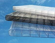 Stegplatten, Hohlkammerplatten 16 mm für Terrassenüberdachung  -KLAR- 3-fach