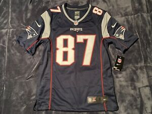Rob Gronkowski New England Patriots Home Navy LIMITED AUTHENTIC Jersey S