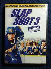 SLAP SHOT 3: THE JUNIOR LEAGUE DVD #HANSON BROTHERS #STEPHEN BALDWIN #GARY BUSEY