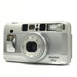Fujifilm Zoom Date 120V Silver 38-120mm Point & Shoot Film Camera EXC+ TK03O