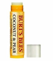 Burt's bees lip balm 100% natural 4.25 g Vitamin E & Peppermint - Coconut & Pear
