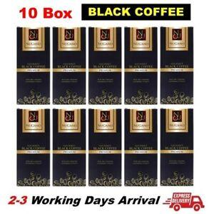 10 Box Nugano Black Coffee Ganoderma Lucidum Reishi 30 Sachets Free Shipping