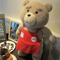 18'' Teddy Bear Shirt Plush Stuffed Bear Soft Toys Doll Kid Gift New