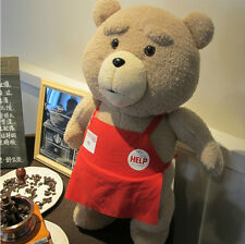 46CM 18'' Ted Movie Teddy Bear Shirt Plush Stuffed Animal Soft Toy Doll Pillow