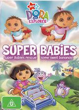 DORA the EXPLORER Super Babies DVD R4 / PAL