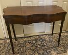 ANTIQUE EARLY AMERICAN CARD TABLE**ISRAEL SACK COLLECTION ***PUBLISHED***