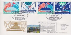 GB STAMPS CHANNEL TUNNEL FIRST DAY COVER 1994 NENE VALLEY RAILWAY