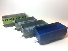 Thomas & Friends STATION REPAIR CARS Trackmaster Train - 2009 - LOT OF 4