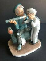 "Vintage NORMAN ROCKWELL'S Collectible Figurine "" Captain"""