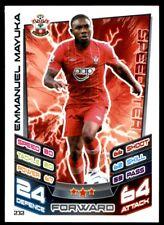 Match Attax 2012-2013 (Southampton) Emmanuel Mayuka No. 232
