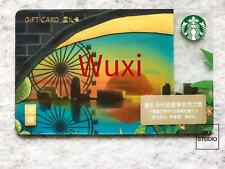 Starbucks 2018 Wuxi City Gift Card